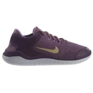 Nike free RN purple gold sneaker gym shoe 6.5 Y
